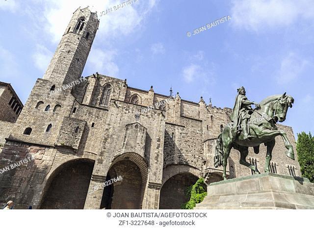 Street view,historic center,gothic quarter,Barcelona