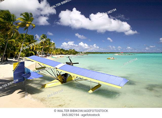 French West Indies (FWI), Guadeloupe, Grande Terre Island, Saint-François: 2nd Largest Tourist Area in Guadeloupe. Anse du Macenillier