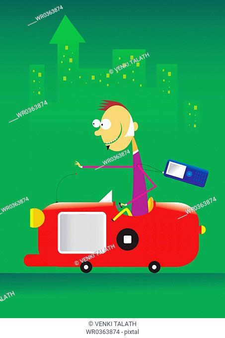Cell Phone Car