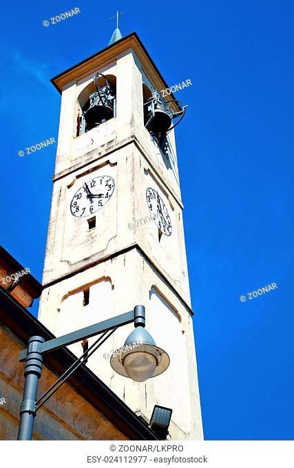 monument clock tower in  bell