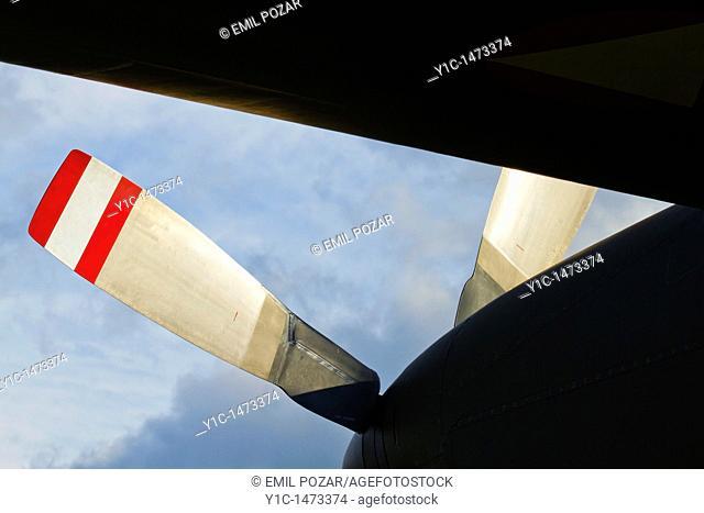 Aviation turbo-power plant