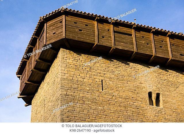 Abizanda ,Pueblo medieval con torreón del siglo XI ,Provincia de Huesca, Comunidad Autónoma de Aragón, Pyrenees Mountains, Spain