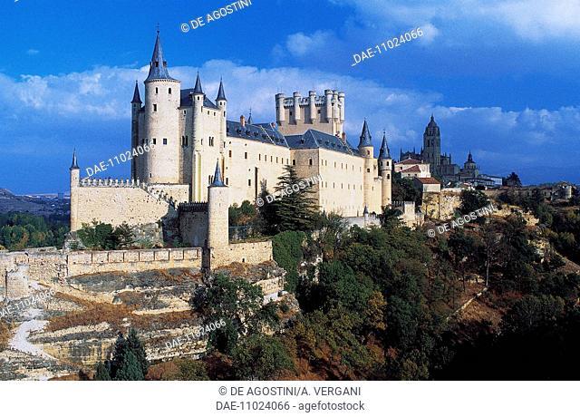 Alcazar, Segovia (UNESCO World Heritage List, 1985), Castile and Leon, Spain, 11th-19th century