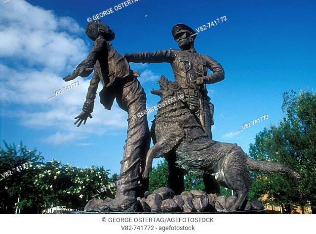Civil Rights Foot Soldier sculpture, Kelly Ingram Park, Birmingham, Alabama, USA