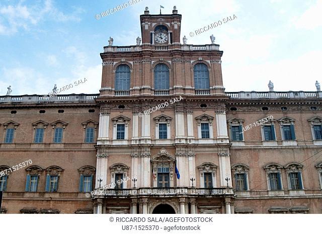Italy, Emilia Romagna, Modena, Ducale Palace, Military Academy