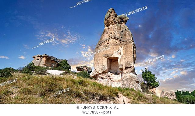 Phrygian temple of Aslankaya, 7th century BC. Phyrigian Valley, Emre Lake, near Dö?er, Turkey