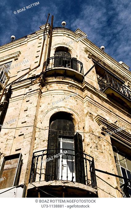 Beautiful old buildings in Jerusalem