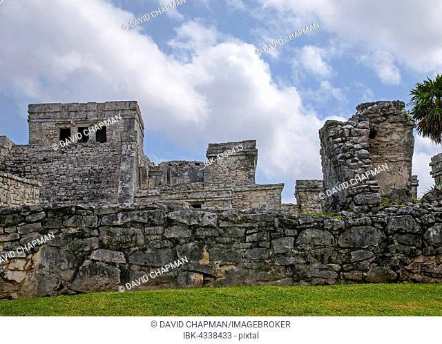 Mayan Ruins, Tulum, Quintana Roo, Riviera Maya, Mexico