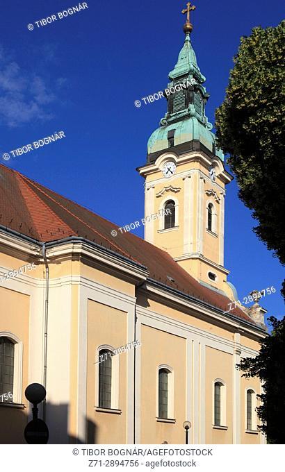 Hungary, Szeged, Serbian Orthodox Church,