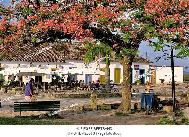 Brazil, Rio de Janeiro State, Paraty