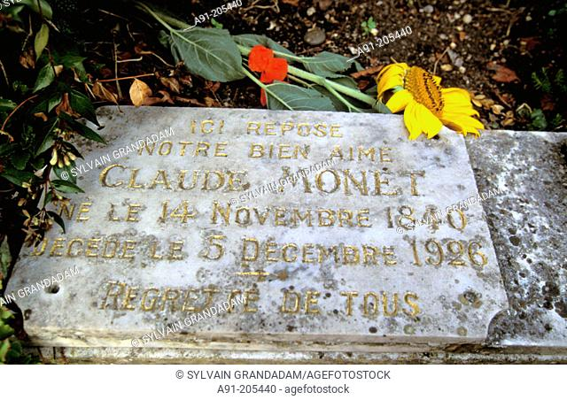 Monet's grave. Giverny. France