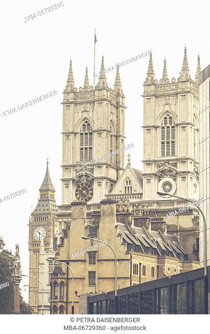 All sites of Big Ben - tower,wer, Big Ben, London, Great Britain