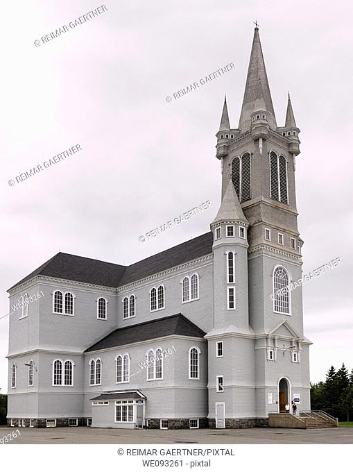 Tallest wooden building in North America Eglise Sainte-Marie in Church Point Nova Scotia