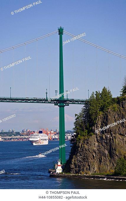 10855082, Lions Gate Bridge, bridge, Vancouver, cr