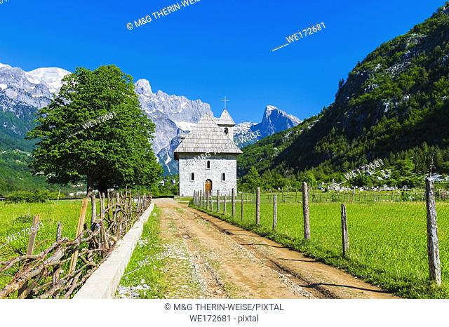 Catholic Church, Thethi village, Thethi valley, Albania