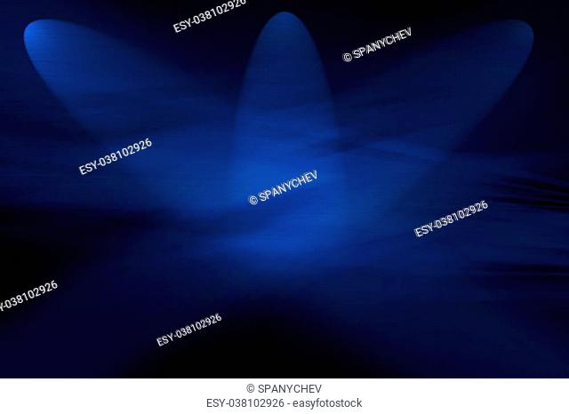 Abstract computer generated blue background for technology, business or electronics products