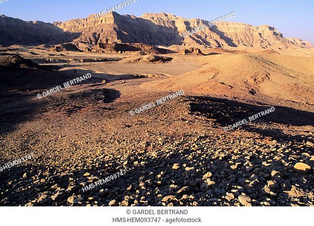 Israel, Neguev desert, national park of Timna Valley
