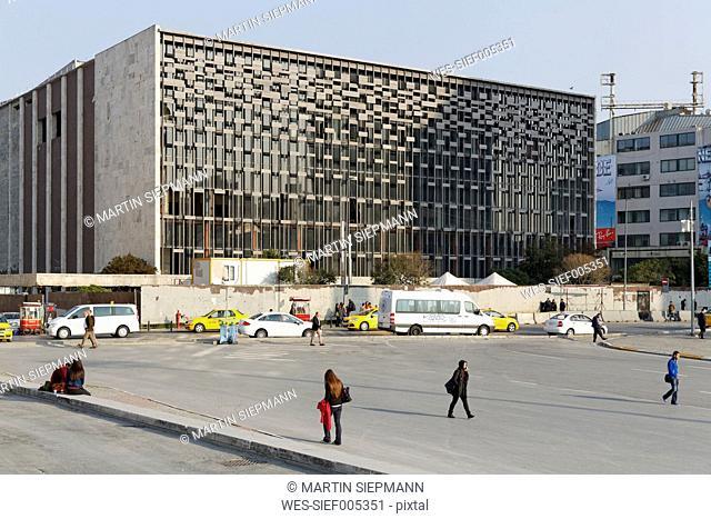 Turkey, Istanbul, Beyoglu, Atatuerk Cultural Center at Taksim Square