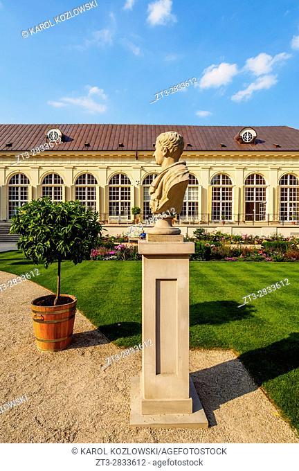 Poland, Masovian Voivodeship, Warsaw, Royal Baths Park, Old Orangery