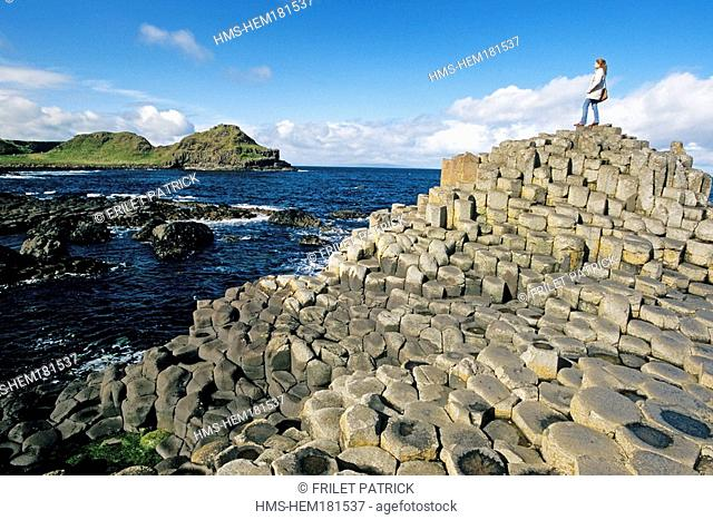 United Kingdom, Northern Ireland, Ulster, County Antrim, The Giants Causeway