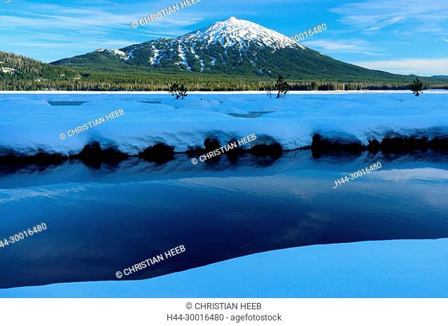 North America, USA, Central Oregon, Oregon, Deschutes County, Mount Bachelor