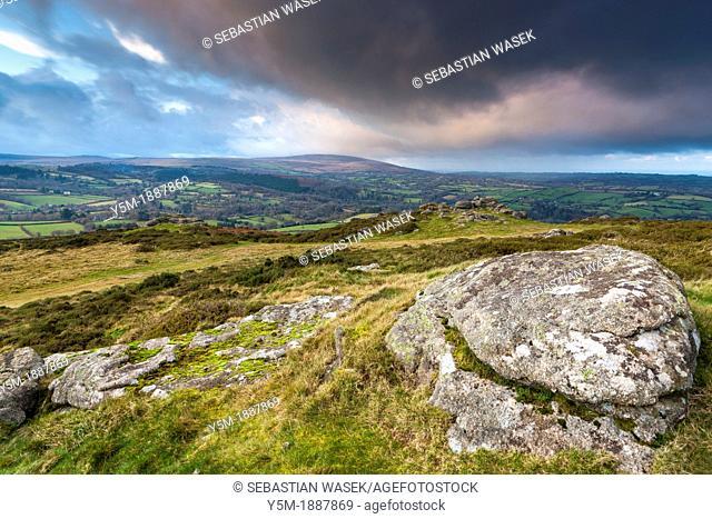 Meldon Hill in Dartmoor National Park