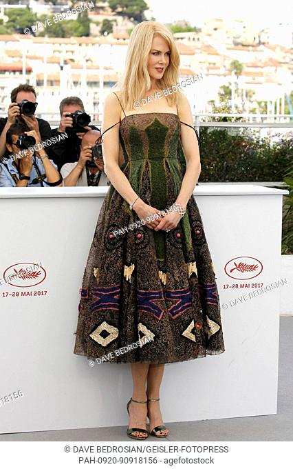 Nicole Kidman at the 'The Killing of a Sacred Deer / Mise à mort du cerf sacré' photocall during the 70th Cannes Film Festival at the Palais des Festivals on...