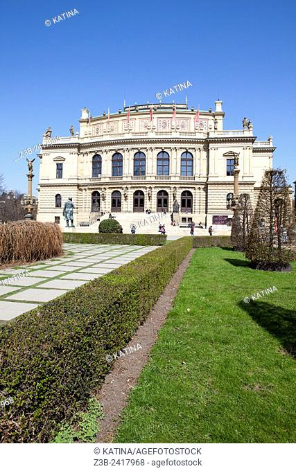 The Rudolfinum is a music auditorium in Prague, Czech Republic. It is designed in the neo-renaissance style and is situated on Jan Palach Square on the bank of...