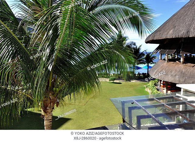 Philippines, Visayas island, garden