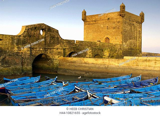 Medina, Old Town, UNESCO, world cultural heritage, fortress, Essaouira, Morocco, Africa, North Africa