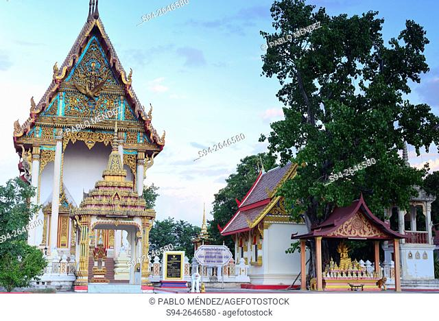 Wat Po Tiwaralam temple in Udon Thani, Thailand
