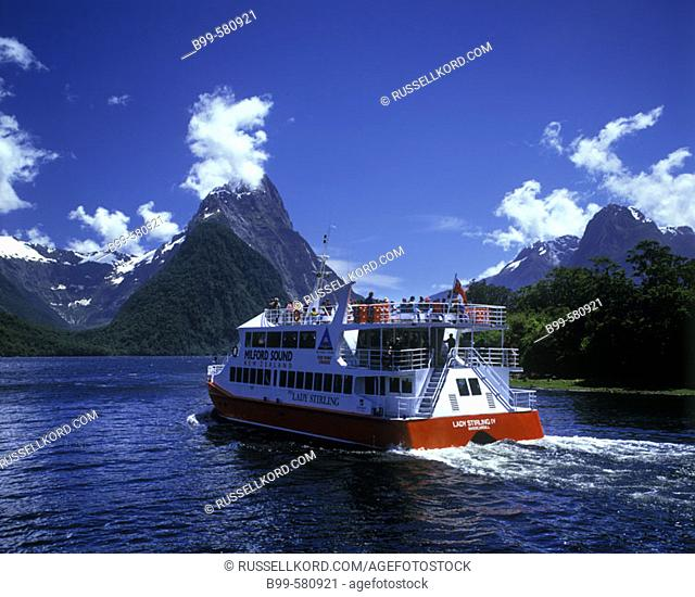 Red Boat Cruise, Milford Sound, Fiordland, New Zealand