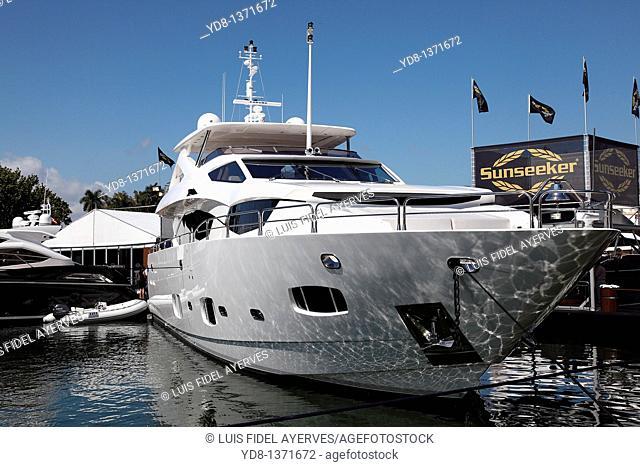 Boat Show 2011, Miami Beach, Florida, USA
