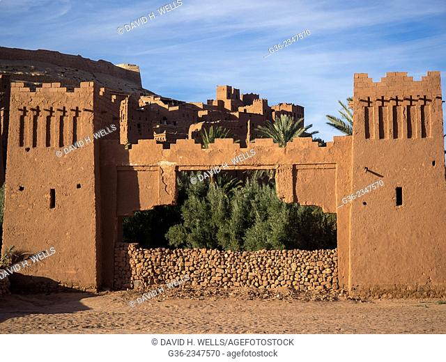 Ancient city of Ait Ben Haddou, Morooco