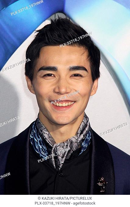 """Ludi Lin 12/12/2018 """"""""Aquaman"""""""" Premiere held at the TCL Chinese Theatre in Hollywood, CA Photo by Kazuki Hirata / HNW / PictureLux"""