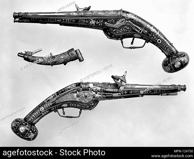 Engraving of firearms parts Stock Photos and Images | age