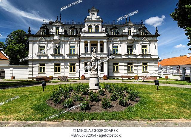 Europe, Poland, Podlaskie Voivodeship, Suprasl, Buchholz palace
