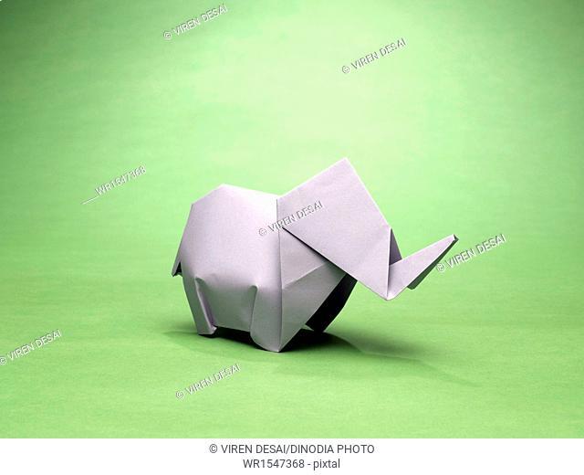 origami elephant India Asia