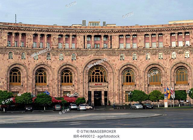 Marriott hotel, Republic Square, Yerevan, Armenia