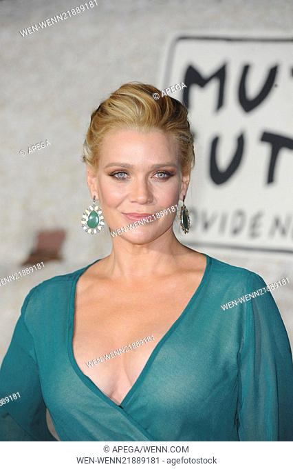 L.A. premiere of 'Dumb and Dumber' held at The Regency Village Theatre in Westwood - Red Carpet Arrivals Featuring: Laurie Holden Where: Los Angeles, California