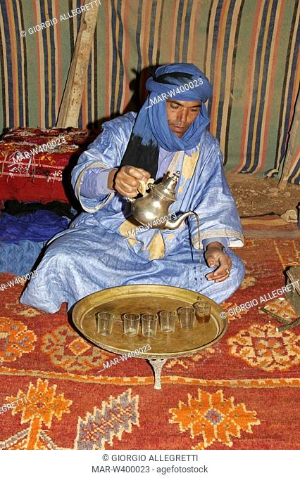guelmim, oasi di tighmert, morocco, africa