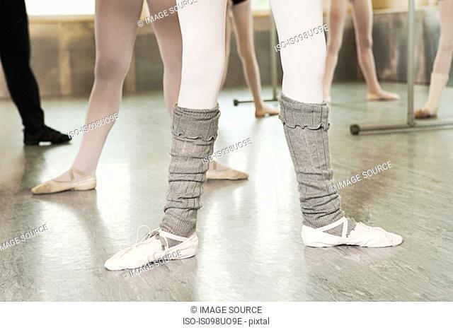 Legs of ballerinas