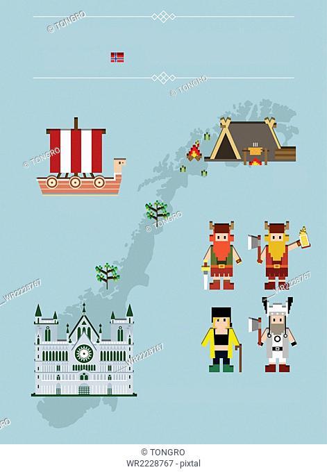 Global landmarks in Norway