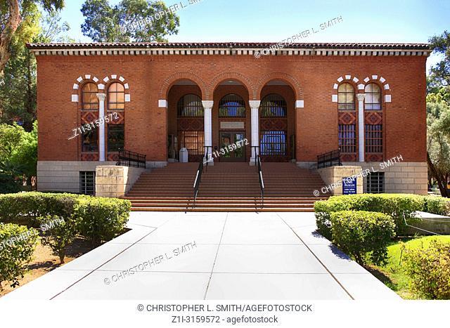 Outside the Arizona State Museum 1010 buidling at E University Blvd, Tucson AZ
