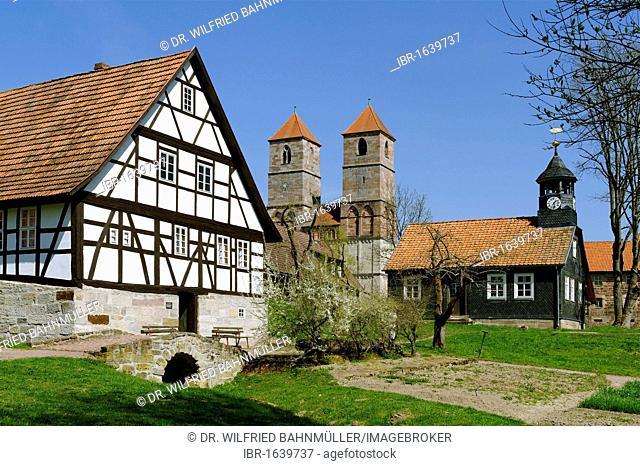 Museum of Henneberg, Kloster Vessra, Thuringia, Germany, Europe