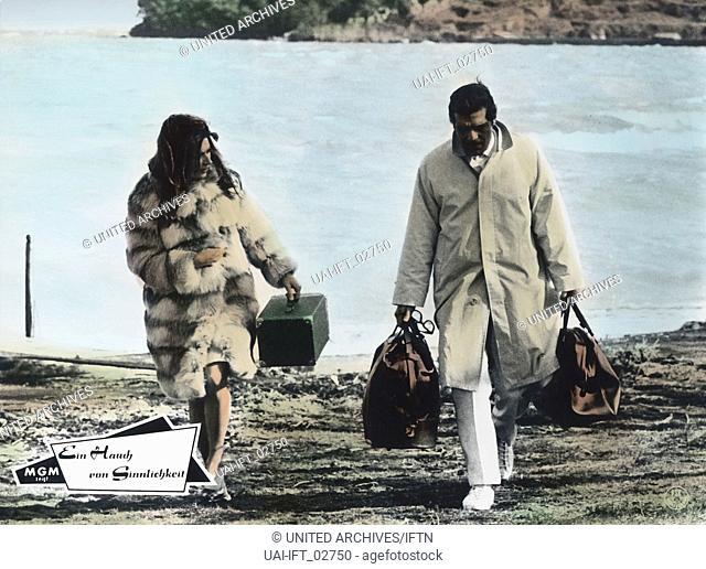 The Appointment, USA 1969, aka Ein Hauch von Sinnlichkeit, Regie: Sidney Lumet, Darsteller: Omar Sharif, Anouk Aimee