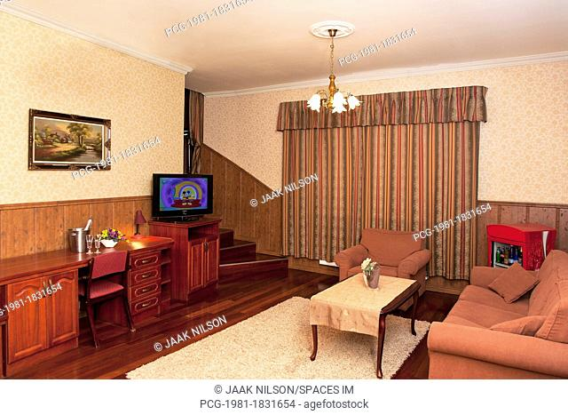 Comfortable Home Suite Living Room Interior