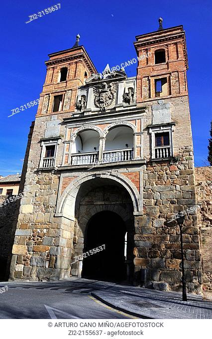 Puerta del Cambron, XVI century, Toledo, Spain