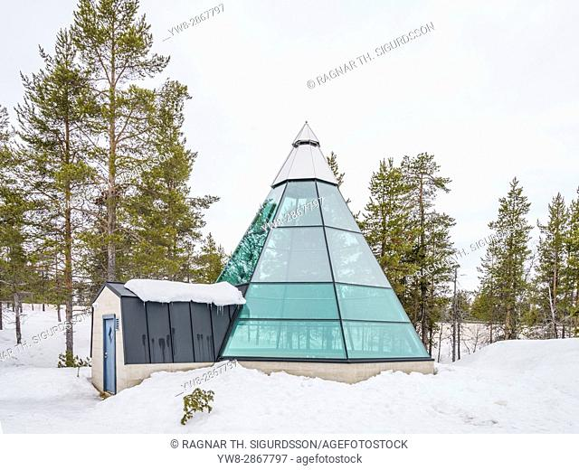 Glass Tent, Kakslauttanen Hotel, Lapland, Finland