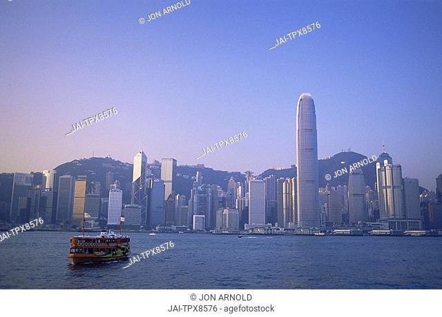 China, Hong Kong, City Skyline